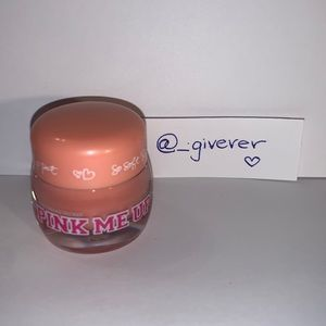 PINK Me Up Colored Lip Balm Pot Peach 🍑 Tint
